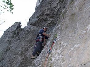 Photo: Obrovský kút VII, Horná stena Gotická. Po troche techniky trocha lezenia
