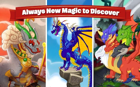 DragonVale MOD Apk (Unlimited Gold/Crystals) 5