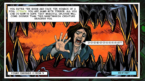 Lovecraft Quest – A Comix Game 7