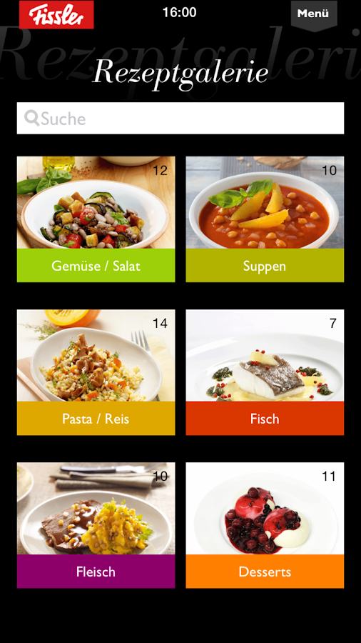 Fissler Cooking App- screenshot