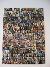 Photo: a photo collage in the lobby