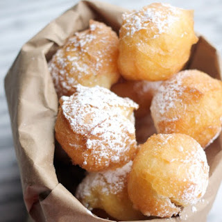 Homemade Beignets with Pate a Choux.