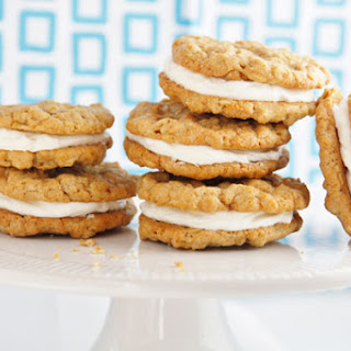 Oatmeal Cream Pies with Browned Butter Frosting