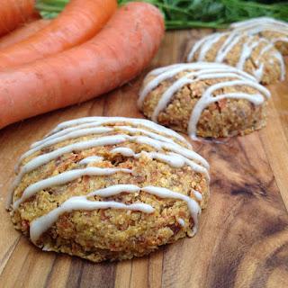 Carrot Cake Cream-Filled Cookies.