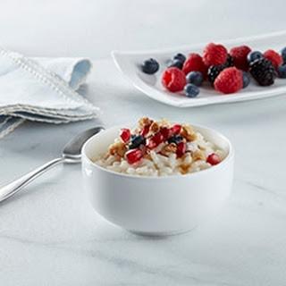 Creamy Breakfast Rice Pudding.