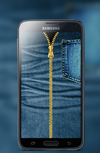 Jeans Zipper Screen Locker screenshot 1