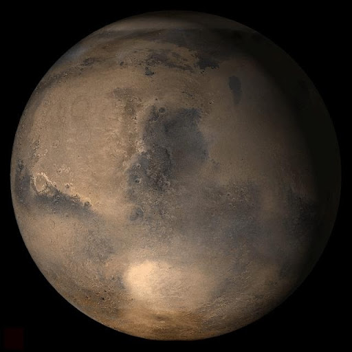 Mars at Ls 12°: Syrtis Major
