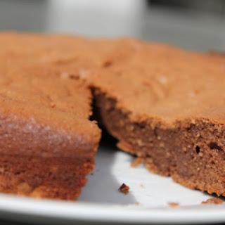 Almond Flour Chocolate Cake.