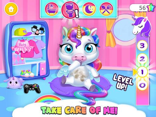 My Baby Unicorn - Virtual Pony Pet Care & Dress Up android2mod screenshots 12