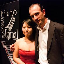 Photo: Yedam KIM et Ashot KHACHATOURIAN Deuxièmes Prix