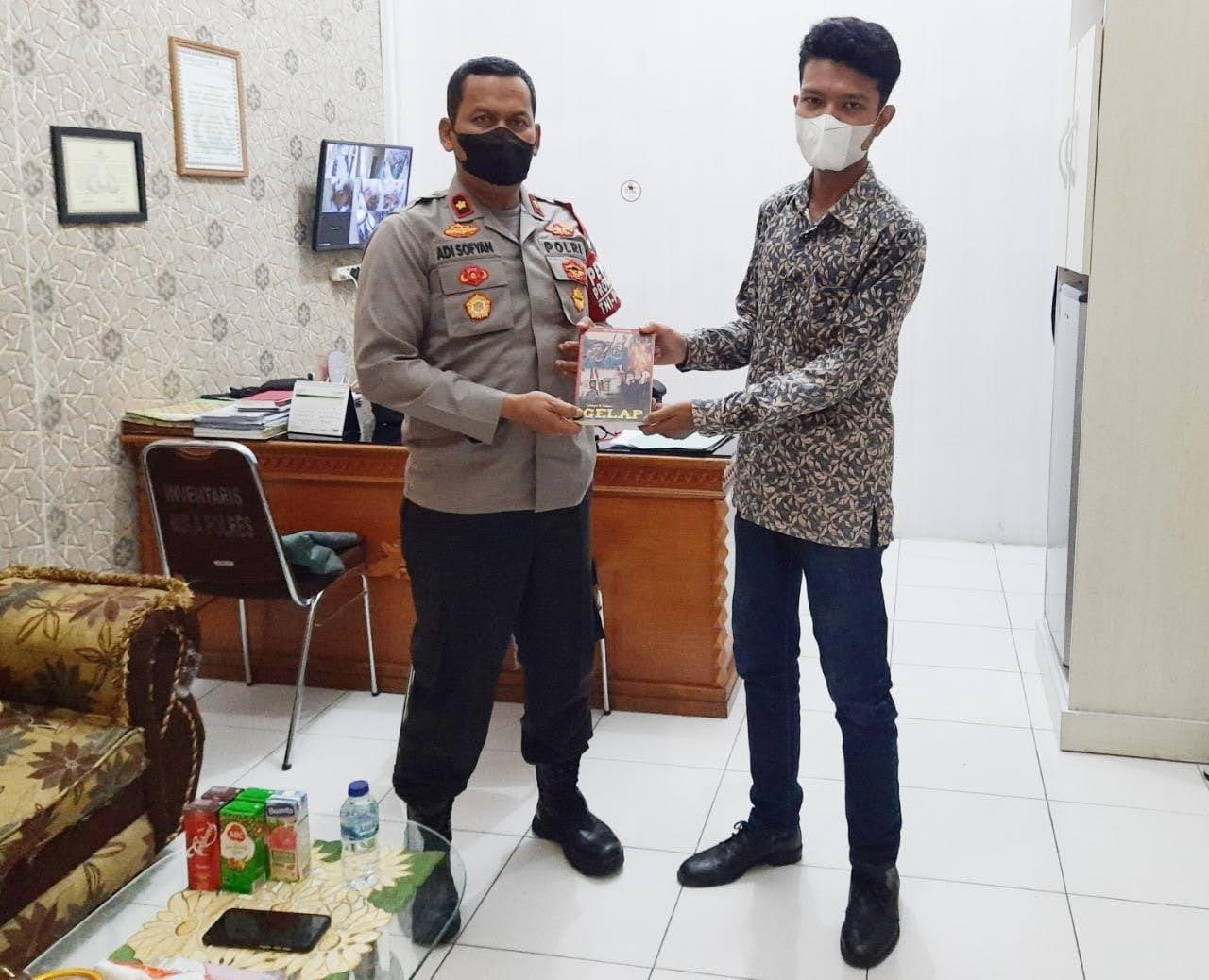 Marak Provokator dan Hoax, Pemuda Aceh Sambangi Polres Aceh Barat