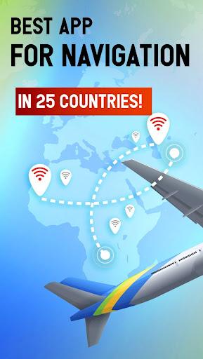 Free WiFi App: WiFi map, passwords, hotspots screenshot 5