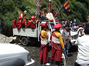 Photo: Buddhist celebration at Kodari