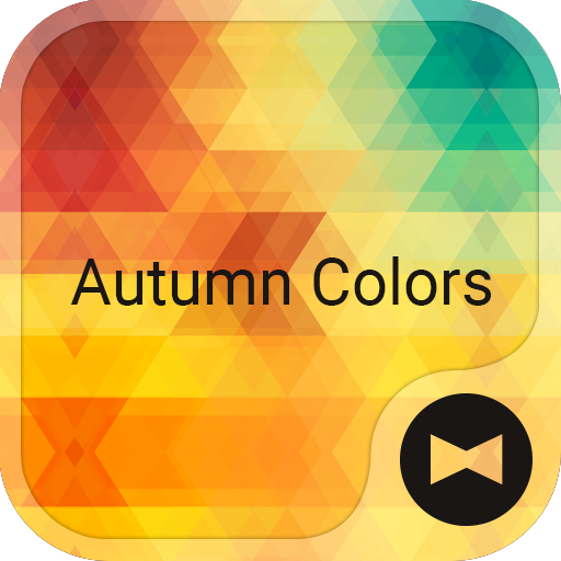 Beautiful Theme Autumn Colors Icon