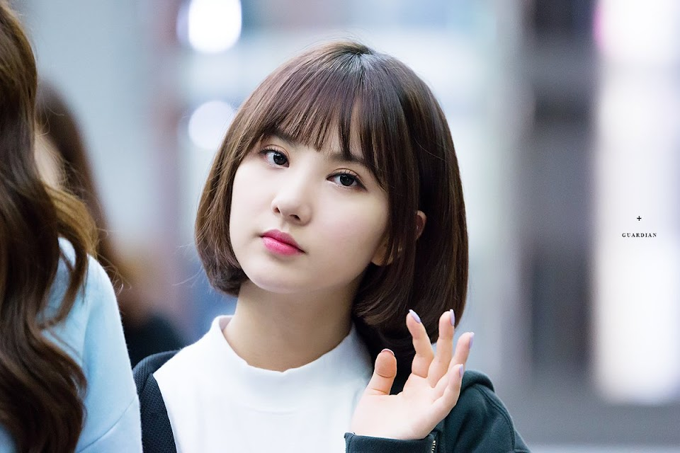 eunha short hair