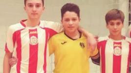 Los tres jugadores convocados por Andalucía.
