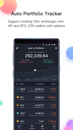 BitUniverse - Bitcoin Price, Crypto Portfolio 2.8.10.8 screenshots 1