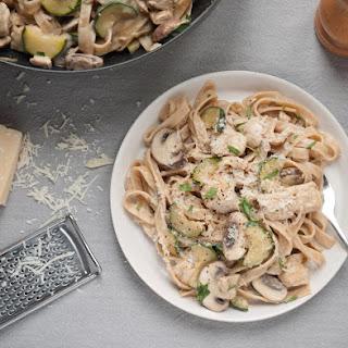 Creamy Chicken & Mushroom Tagliatelle