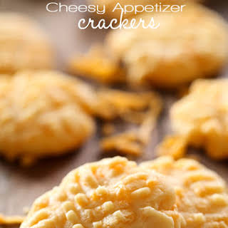 Cheesy Appetizer Crackers.