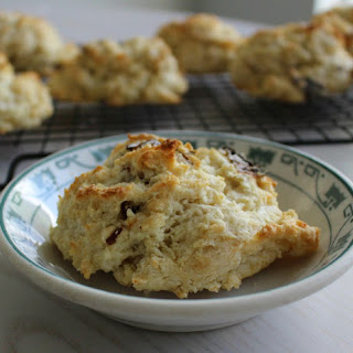 Asiago cheese biscuits with Sun-dried Tomatoes.