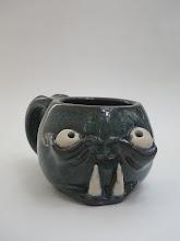 "Photo: Mug 5 * Aww * 2.75"" tall. *  Holds ~ 1 cup"