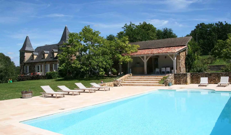 Maison avec piscine et jardin Saint-Amand-de-Belvès