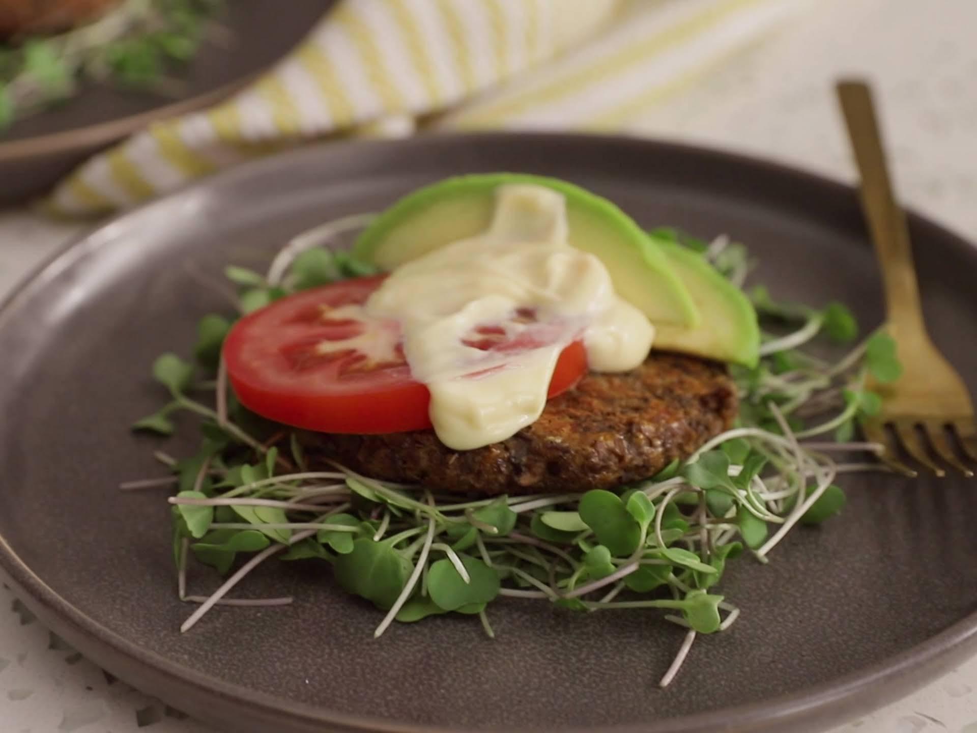 Keto Veggie Burgers Recipe Yummly