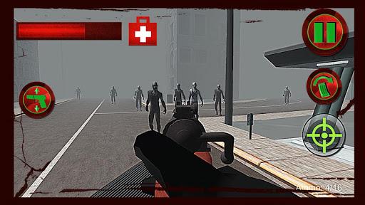 ゾンビディフェンス:死んだターゲット 3D