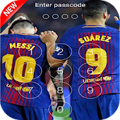 Keypad Lock Screen For Fc Barcelona 2018