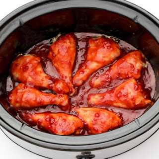 Slow Cooker Cranberry Chicken Legs Recipe
