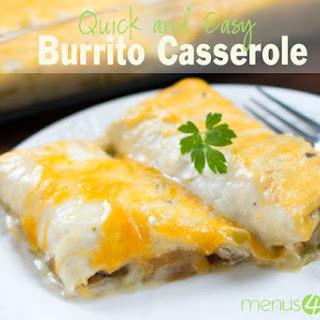 Burrito Casserole.