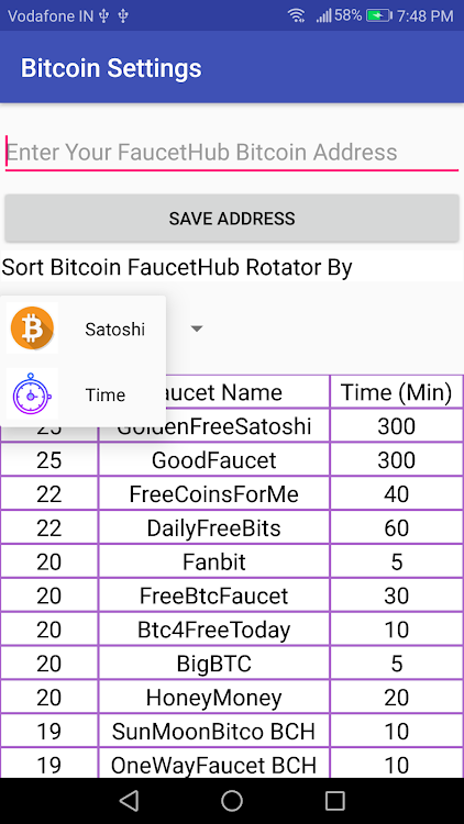 AIO Bitcoin Faucet Rotator – (Android Apps) — AppAgg