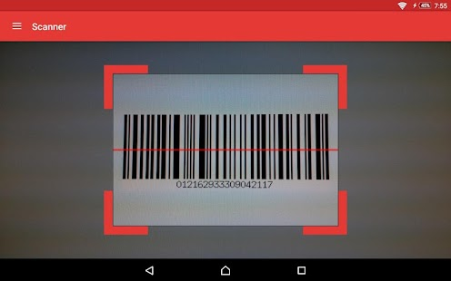 ScanDroid code scanner (PRO) Screenshot