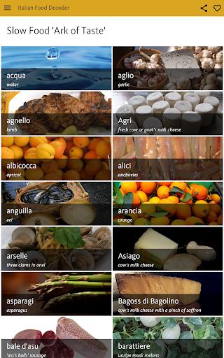 Italian Food Decoder screenshot 24