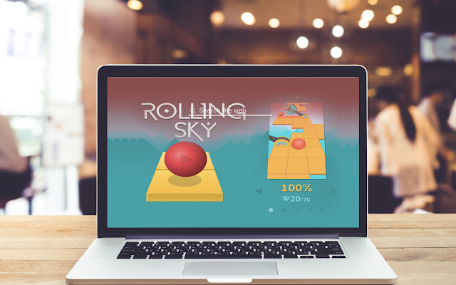 Rolling Sky HD Wallpapers Game Theme