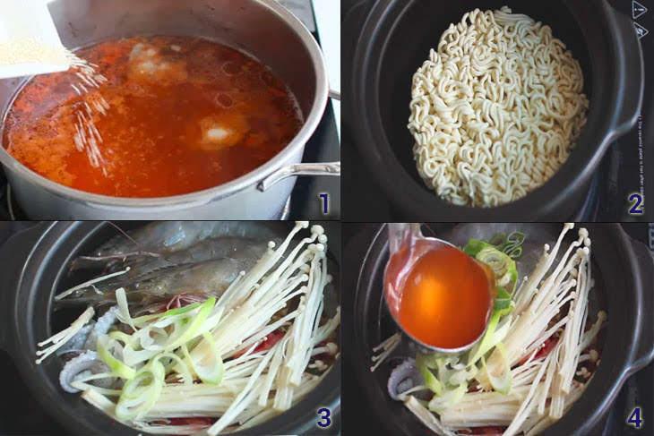Cách làm mì cay 3 cấp độ cho ngày Đông thêm ấm bụng ~ Ẩm Thực Thông Thái