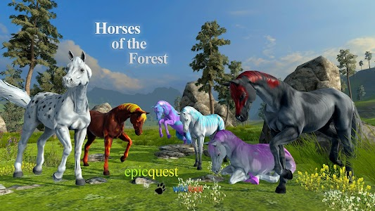 Horses of the Forest screenshot 1