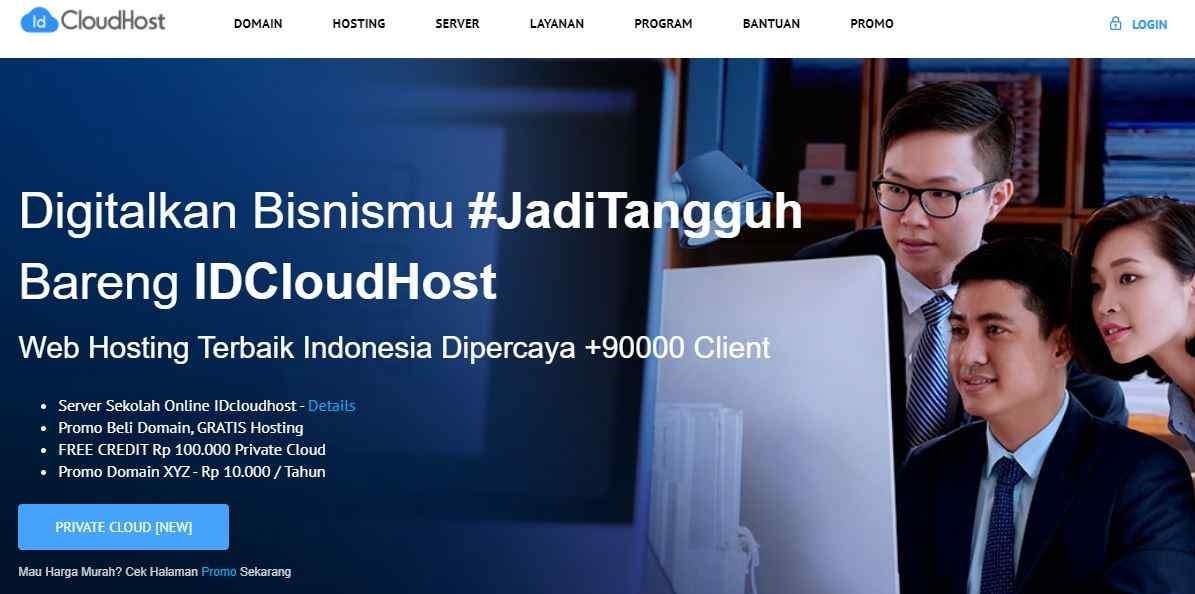 Nama Provider Hosting Terpercaya Indonesia Indowebsite