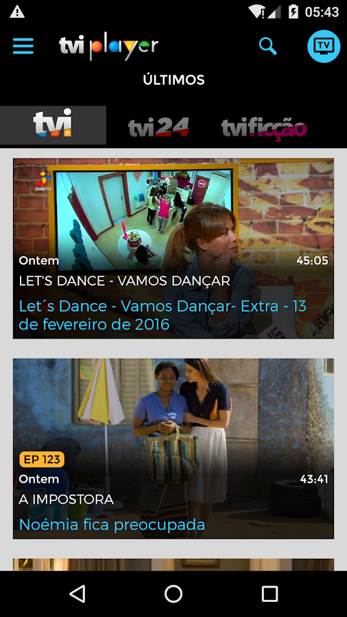 TVI Player- screenshot