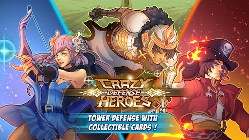 Crazy Defense Heroes: Tower Defense Strategy TD 1.1.5 de.gamequotes.net 1