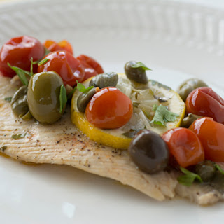 Mediterranean Roasted Fish