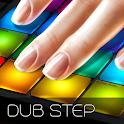 Drum Pad dubstep music maker dj icon