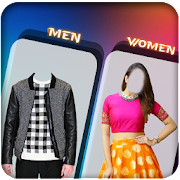Woman and Man Suit Photo Editor