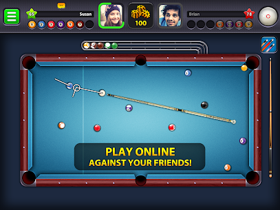 8 Ball Pool MOD [No need to select Pocket/All Room Guideline/Auto win] 5