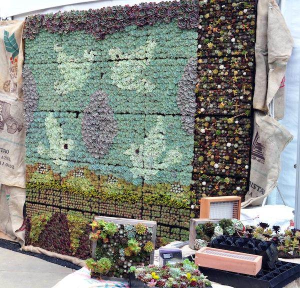 Vertical Gardening Panels For Succulents