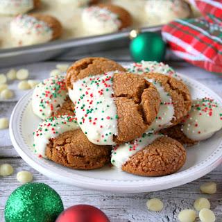 Molasses Crinkle Cookies