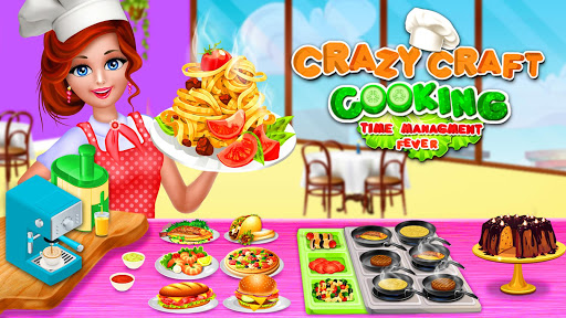 Crazy Craft Cooking - Time Management Fever 3.0 screenshots 1