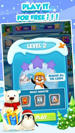 Code Triche Solitaire Match Penguin Adventure APK MOD screenshots 6