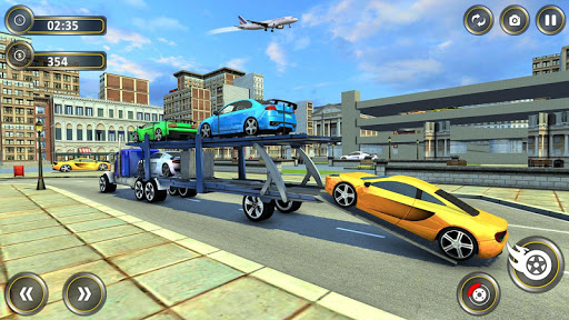 Cars Transport Trailer : cars transporter apkpoly screenshots 2
