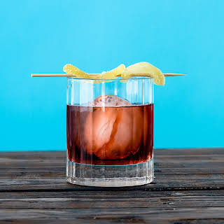 Spiced Rum Negroni.
